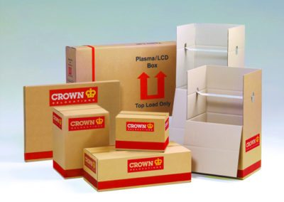 Packaging Boxes by Crown Relocations
