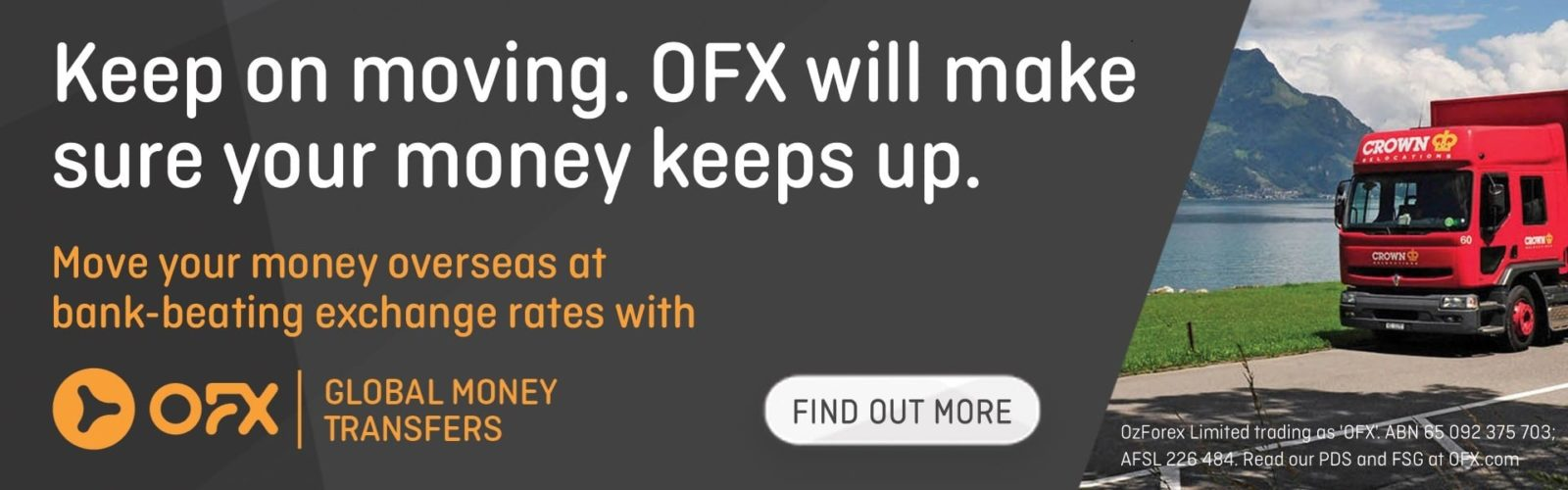 OFX will make sure your money keeps up!